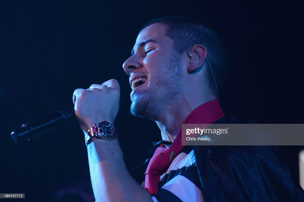 Recording artist Nick Jonas performs onstage at the Maxim Halloween Party Presented By Karma International on October 24, 2015 in Los Angeles, California.