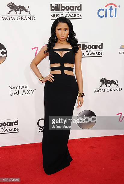 Recording artist Nicki Minaj arrives at the 2014 Billboard Music Awards at the MGM Grand Garden Arena on May 18 2014 in Las Vegas Nevada