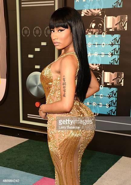 Recording artist Nicki Minaj attends the 2015 MTV Video Music Awards at Microsoft Theater on August 30 2015 in Los Angeles California