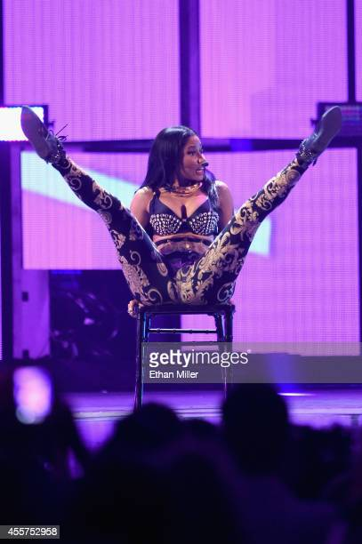 Recording artist Nicki Minaj performs onstage during the 2014 iHeartRadio Music Festival at the MGM Grand Garden Arena on September 19, 2014 in Las...