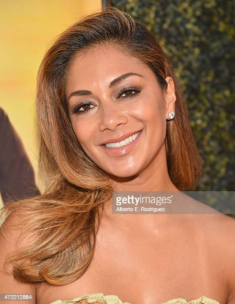 Recording artist Nicole Scherzinger attends the premiere of Roadside Attractions' Godspeed Pictures' 'Where Hope Grows' at The ArcLight Cinemas on...