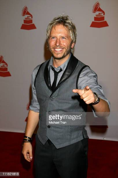 Recording artist Noel Schajris attends the 2008 Latin Recording Academy Person of the Year Tribute to Gloria Estefan held at George R Brown...