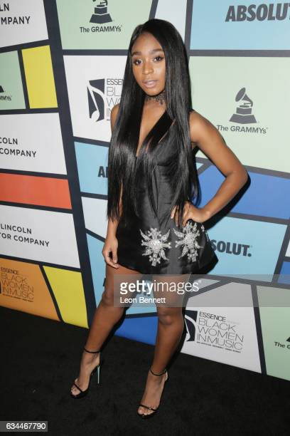 Recording artist Normani Kordei of Fifth Harmony attends 2017 Essence Black Women in Music at NeueHouse Hollywood on February 9 2017 in Los Angeles...