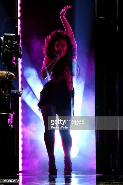 Recording artist Normani performs onstage during the 2018 Billboard Music Awards at MGM Grand Garden Arena on May 20 2018 in Las Vegas Nevada