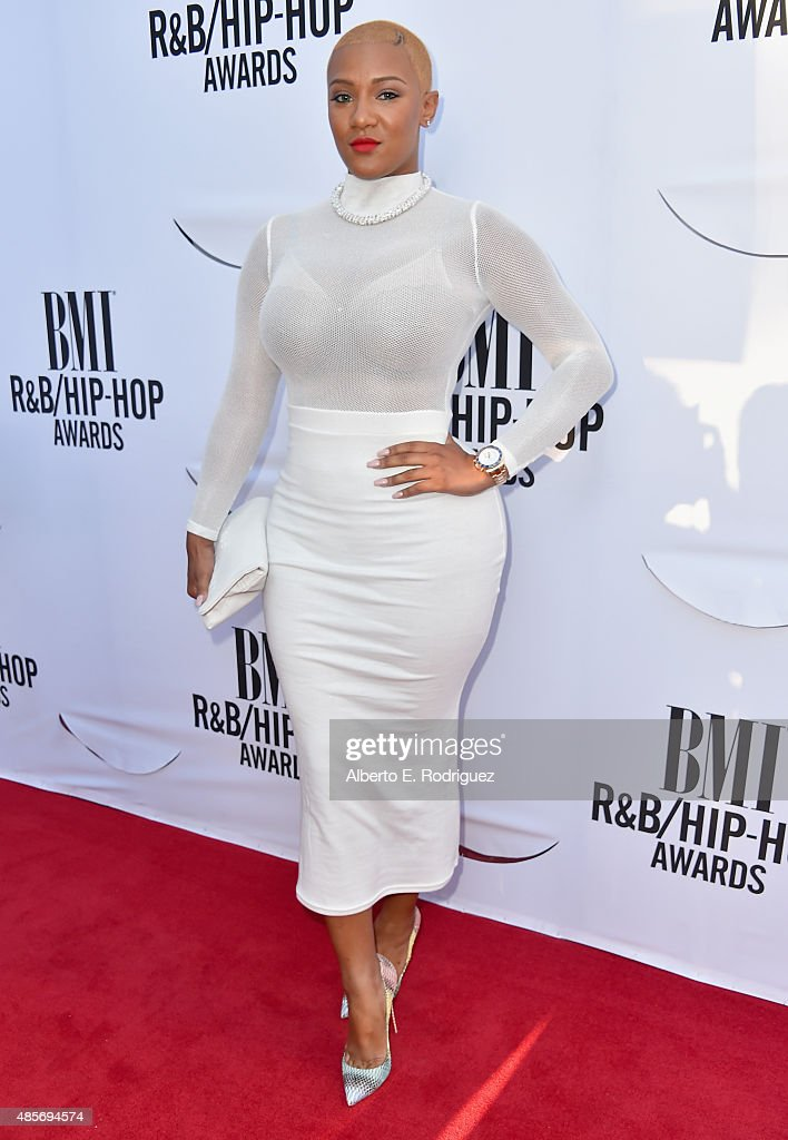 Recording artist Nya Lee attends the 2015 BMI R&B/Hip Hop Awards at Saban Theatre on August 28, 2015 in Beverly Hills, California.