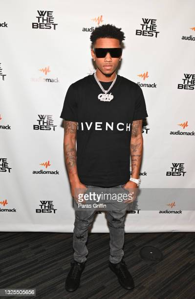 Recording artist OBN Jay attends AudioMack Presents Beyond The Beat With DJ Khaled at The GRAMMY Museum on June 25, 2021 in Los Angeles, California.
