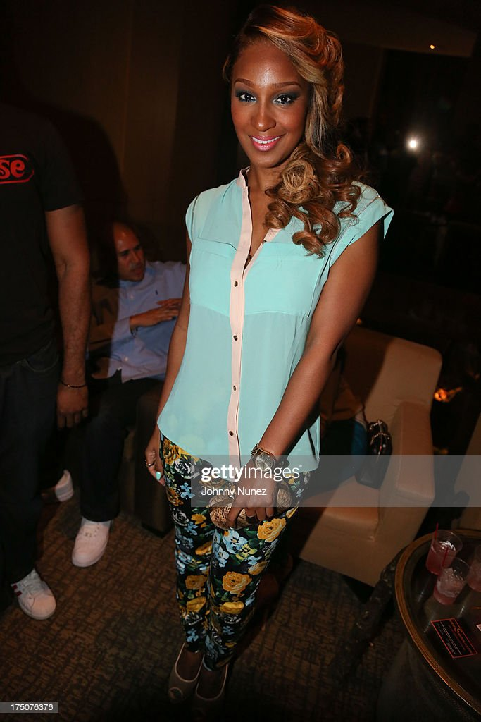 Recording artist Olivia attends the Salon Diaries Launch at Trump World Bar on July 30, 2013 in New York City.