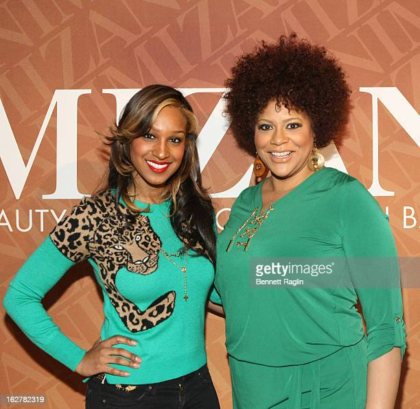 Recording artist Olivia Longott and Kim Coles attends 'The Spoken Word' Hosted By Kim Coles at L'Oreal Soho Academy on February 26 2013 in New York...