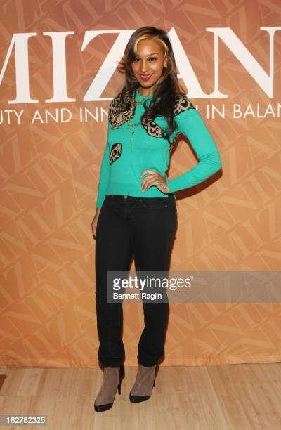 Recording artist Olivia Longott attends 'The Spoken Word' Hosted By Kim Coles at L'Oreal Soho Academy on February 26 2013 in New York City