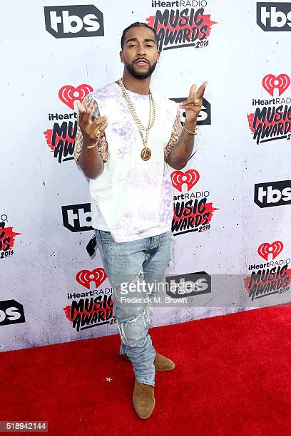 Recording artist Omarion attends the iHeartRadio Music Awards at The Forum on April 3 2016 in Inglewood California