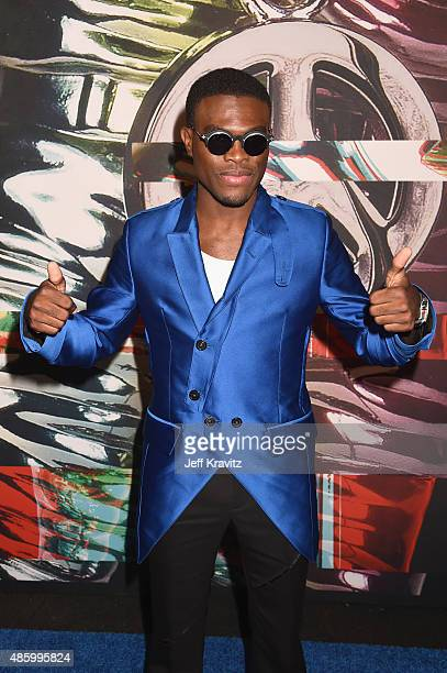 Recording artist OMI attends the 2015 MTV Video Music Awards at Microsoft Theater on August 30 2015 in Los Angeles California