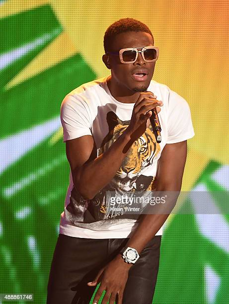Recording artist OMI performs onstage VH1's 5th Annual Streamy Awards at the Hollywood Palladium on Thursday September 17 2015 in Los Angeles...