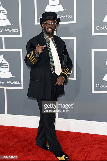 Recording artist Otis Williams arrives at the 55th Annual GRAMMY Awards at Staples Center on February 10 2013 in Los Angeles California