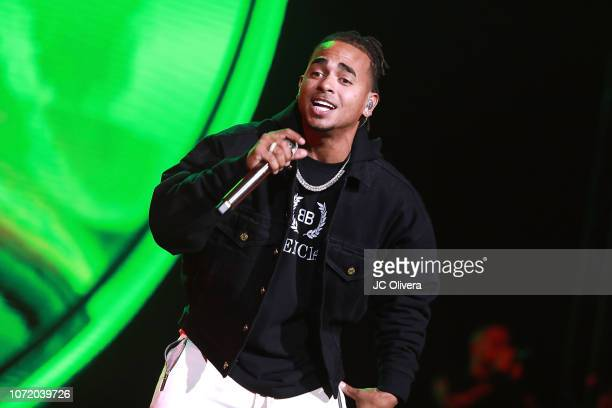 Recording artist Ozuna performs onstage at Honda Center on November 24 2018 in Anaheim California