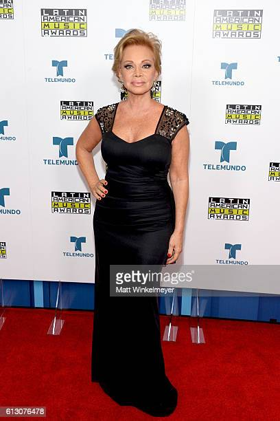 Recording artist Paloma San Basilio attends the 2016 Latin American Music Awards at Dolby Theatre on October 6 2016 in Hollywood California