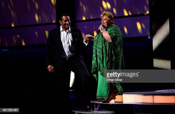 Recording artist Paquita la del Barrio performs onstage during the 14th Annual Latin GRAMMY Awards held at the Mandalay Bay Events Center on November...