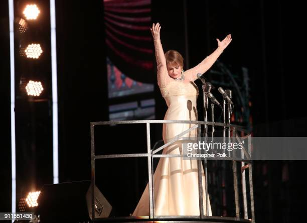Recording artist Patti LuPone performs on stage the 60th Annual GRAMMY Awards at Madison Square Garden on January 28 2018 in New York City