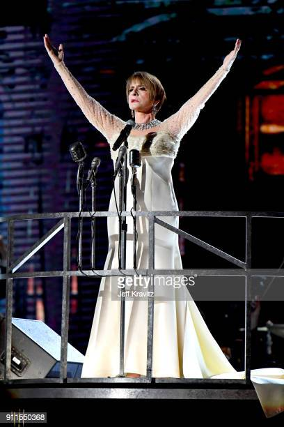 Recording artist Patti LuPone performs onstage during the 60th Annual GRAMMY Awards at Madison Square Garden on January 28 2018 in New York City