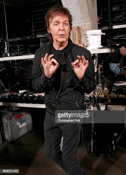 Recording artist Paul McCartney attends The 57th Annual GRAMMY Awards at STAPLES Center on February 8 2015 in Los Angeles California