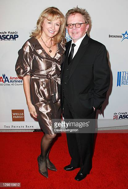 Recording artist Paul Williams and wife Mariana Williams attend Love Sweet Love a musical tribute to Hal David at the Mark Taper Forum on October 17...