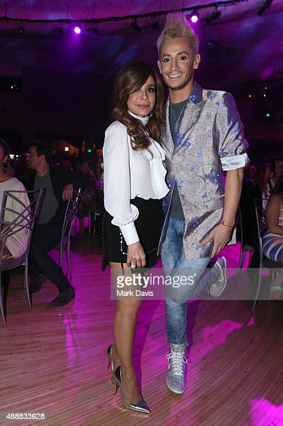 Recording artist Paula Abdul and internet personality Frankie J Grande attend VH1's 5th Annual Streamy Awards at the Hollywood Palladium on Thursday...