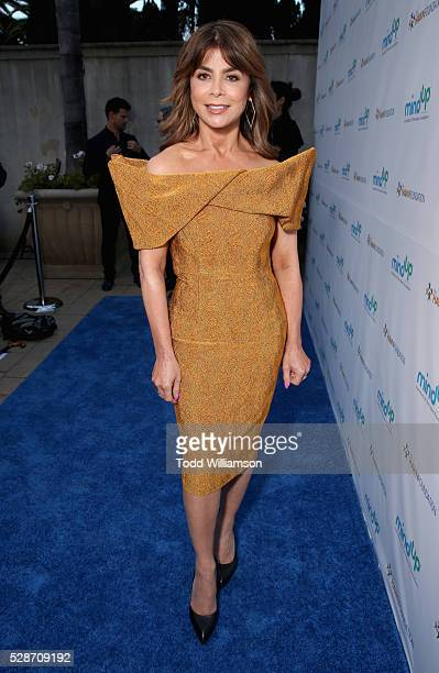 Recording artist Paula Abdul attends Annual Goldie's Love In For Kids hosted by Goldie Hawn at Ron Burkle's Green Acres Estate on May 6 2016 in...