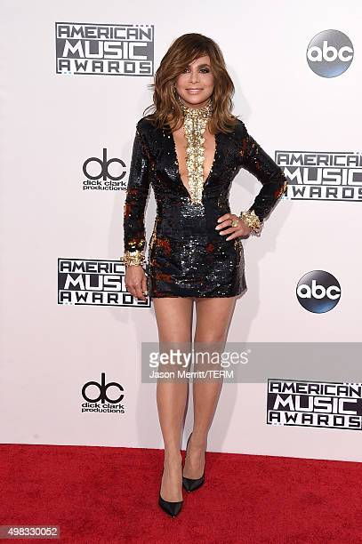 Recording artist Paula Abdul attends the 2015 American Music Awards at Microsoft Theater on November 22 2015 in Los Angeles California