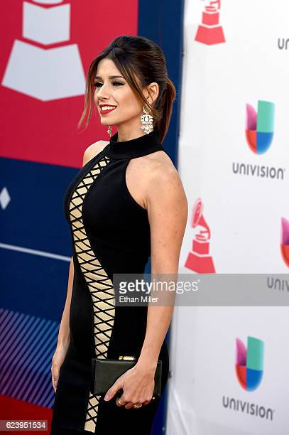 Recording artist Paula Fernandes attends The 17th Annual Latin Grammy Awards at TMobile Arena on November 17 2016 in Las Vegas Nevada