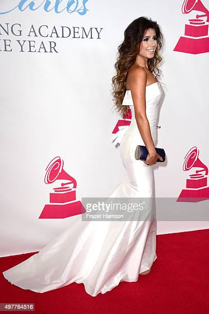 Recording artist Paula Fernandes attends the 2015 Latin GRAMMY Person of the Year honoring Roberto Carlos at the Mandalay Bay Events Center on...