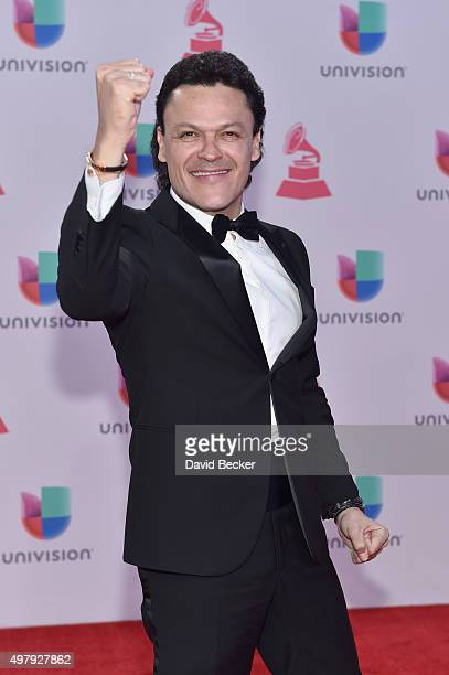 Recording artist Pedro Fernandez attends the 16th Latin GRAMMY Awards at the MGM Grand Garden Arena on November 19 2015 in Las Vegas Nevada