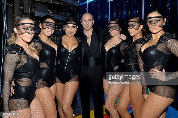 Recording artist Pitbull attends the 15th annual Latin GRAMMY Awards at the MGM Grand Garden Arena on November 20 2014 in Las Vegas Nevada