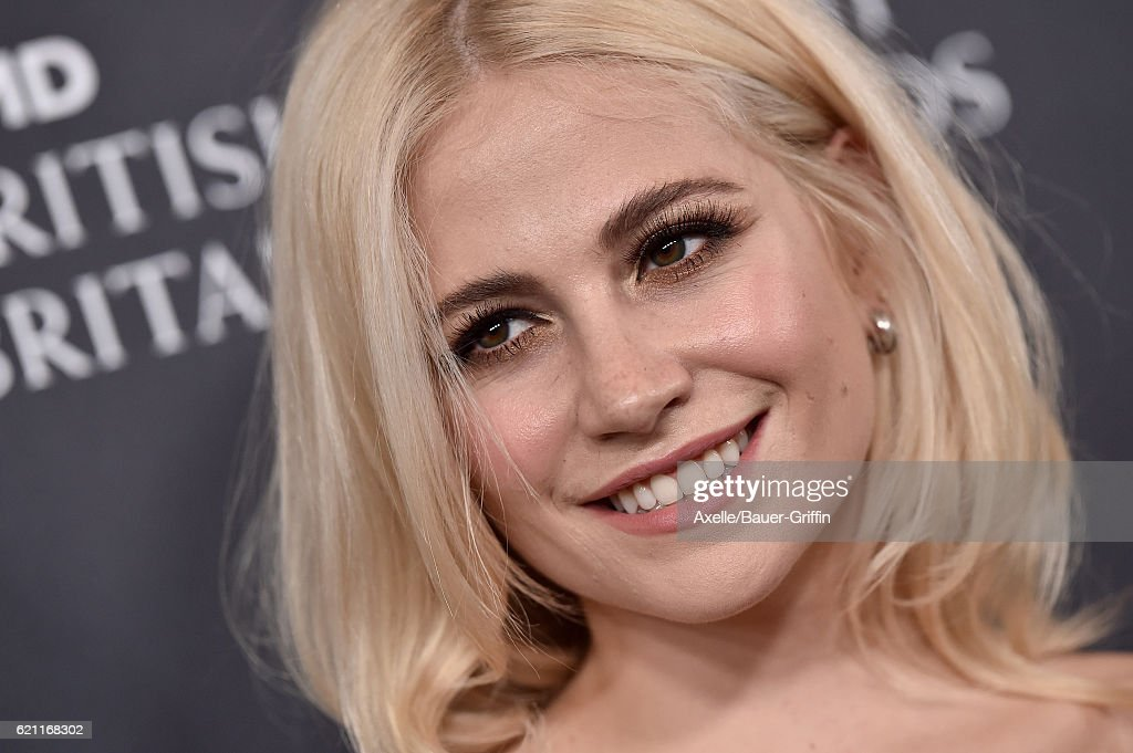 Recording artist Pixie Lott arrives at the 2016 AMD British Academy Britannia Awards presented by Jaguar Land Rover and American Airlines at The Beverly Hilton Hotel on October 28, 2016 in Beverly Hills, California.
