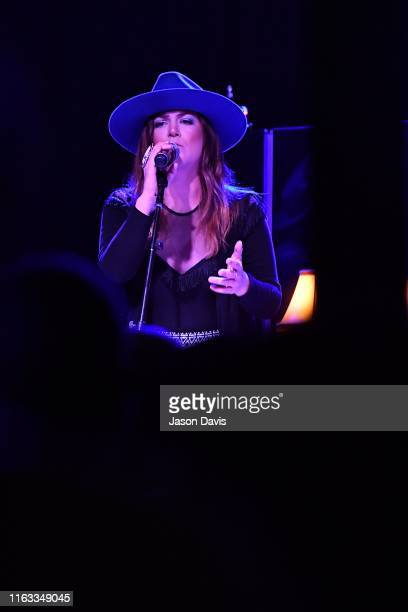 Recording Artist Presley Tucker of Reverie Lane performs on stage during the Tanya Tucker Album Release Party at Exit/In on August 23 2019 in...