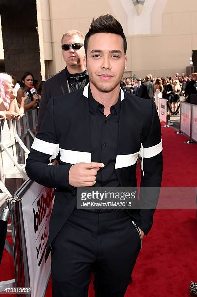 Recording artist Prince Royce attends the 2015 Billboard Music Awards at MGM Grand Garden Arena on May 17 2015 in Las Vegas Nevada