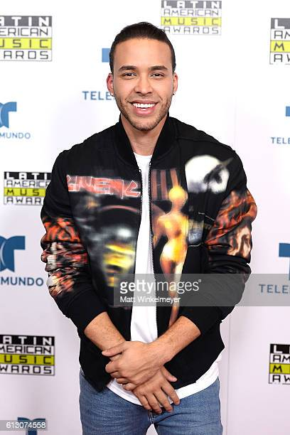 Recording artist Prince Royce winner of Favorite Artist Tropical attends the 2016 Latin American Music Awards at Dolby Theatre on October 6 2016 in...