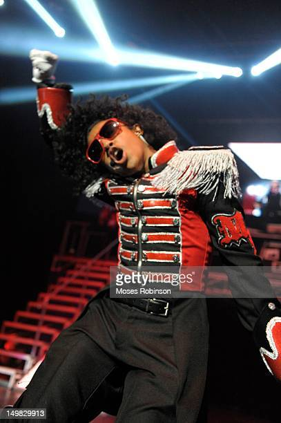 Recording artist Princeton of Mindless Behavior perform during the Girl Tour at The Fox Theatre on August 4 2012 in Atlanta Georgia