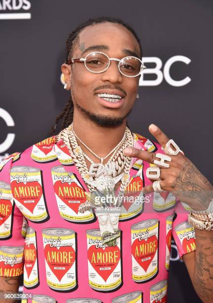 Recording artist Quavo of Migos attends the 2018 Billboard Music Awards at MGM Grand Garden Arena on May 20 2018 in Las Vegas Nevada