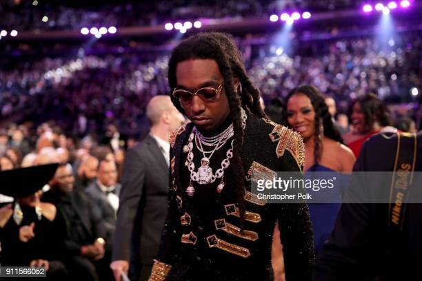 Recording artist Quavo of Migos attends the 60th Annual GRAMMY Awards at Madison Square Garden on January 28 2018 in New York City
