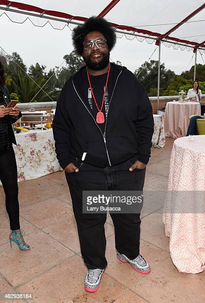 Recording artist Questlove attends Roc Nation and Three Six Zero PreGRAMMY Brunch 2015 at Private Residence on February 7 2015 in Beverly Hills...