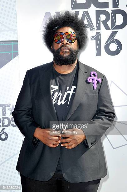 Recording artist Questlove attends the 2016 BET Awards at Microsoft Theater on June 26 2016 in Los Angeles California