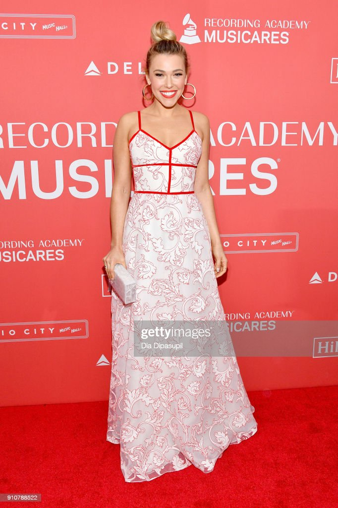 Recording artist Rachel Platten attends MusiCares Person of the Year honoring Fleetwood Mac at Radio City Music Hall on January 26, 2018 in New York City.