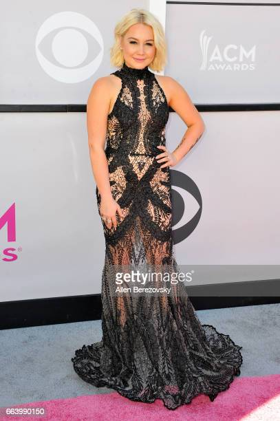 Recording artist RaeLynn arrives at the 52nd Academy Of Country Music Awards on April 2 2017 in Las Vegas Nevada