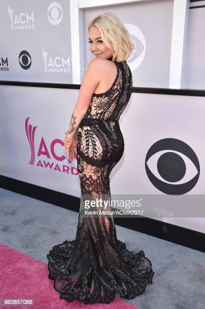 Recording artist RaeLynn attends the 52nd Academy Of Country Music Awards at Toshiba Plaza on April 2 2017 in Las Vegas Nevada