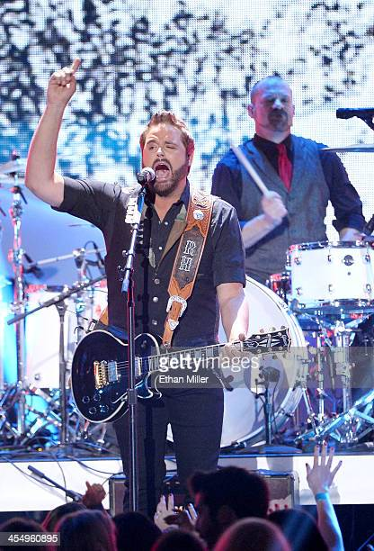 Recording artist Randy Houser performs onstage during the American Country Awards 2013 at the Mandalay Bay Events Center on December 10, 2013 in Las...
