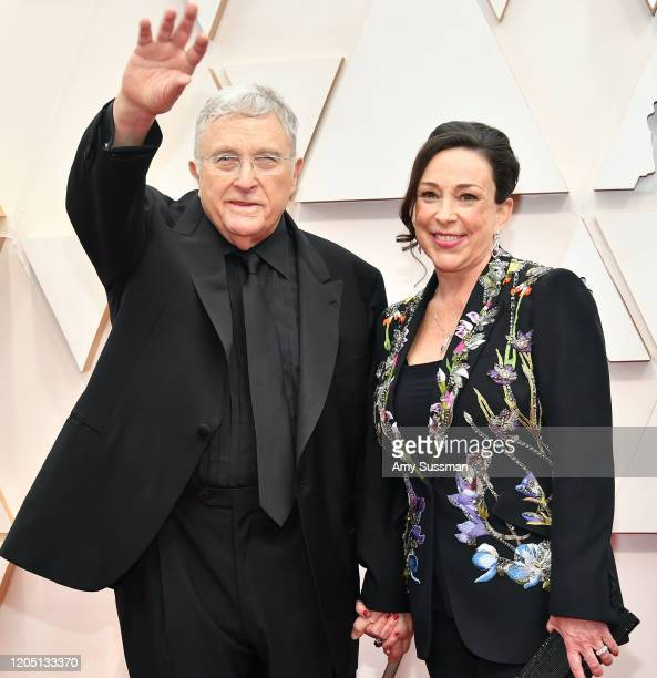 Recording artist Randy Newman and producer Gretchen Preece attends the 92nd Annual Academy Awards at Hollywood and Highland on February 09 2020 in...
