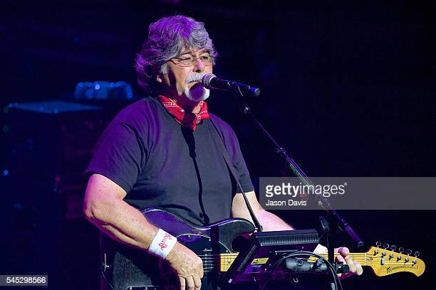 Recording Artist Randy Owen of Alabama performs onstage during The Big Gig Alabama Concert at CMA Theater at the Country Music Hall of Fame and...