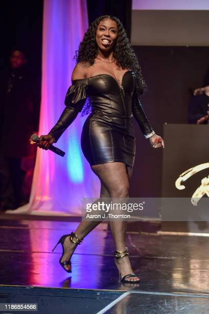 Recording Artist / Rapper Kash Doll performs onstage during the 11th Annual Surround Sound of Fashion at The DuSable Museum of African American...