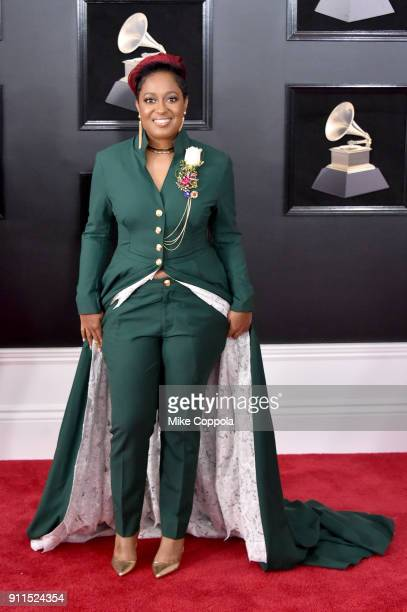 Recording artist Rapsody attends the 60th Annual GRAMMY Awards at Madison Square Garden on January 28 2018 in New York City