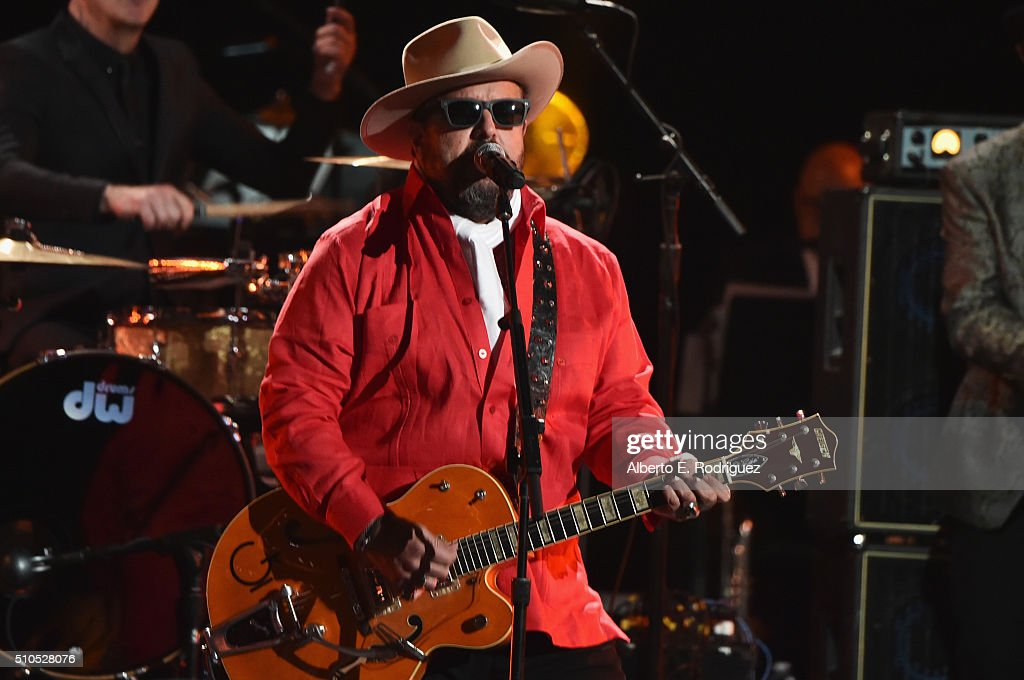 Recording artist Raul Malo of music group The Mavericks performs onstage during the GRAMMY Pre-Telecast at The 58th GRAMMY Awards at Microsoft Theater on February 15, 2016 in Los Angeles, California.