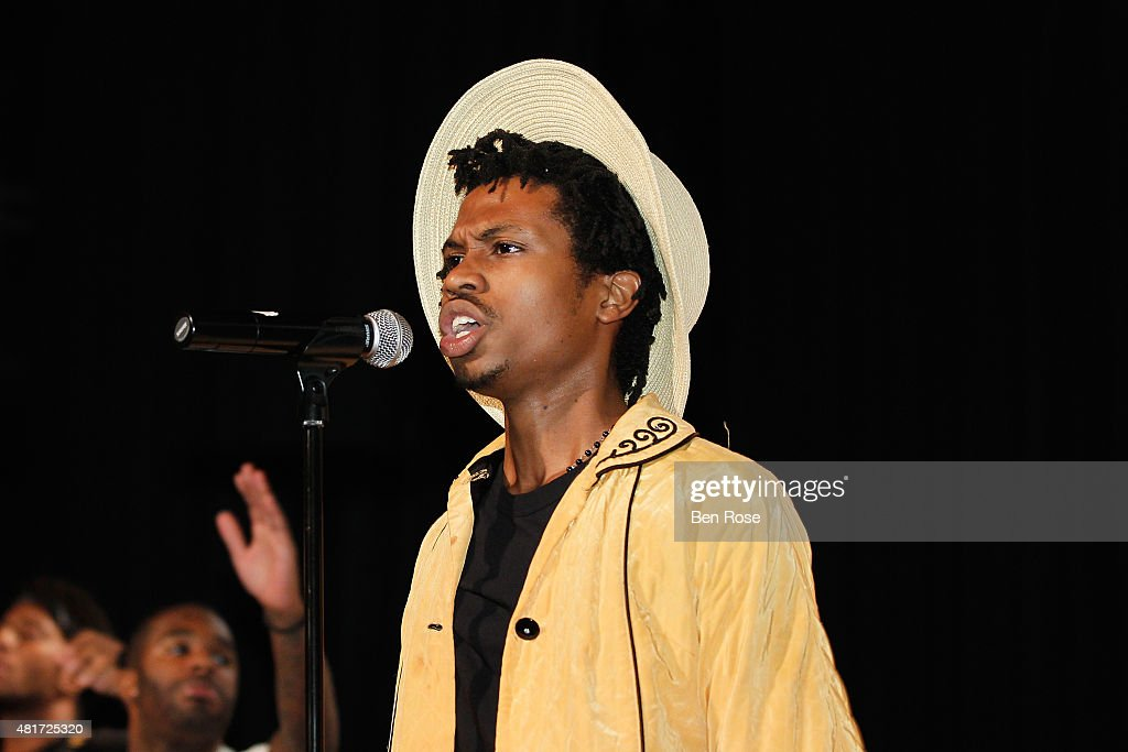 Recording artist Raury Tullis performs during the GRAMMY Atlanta Chapter Member Party at The Buckhead Theater on July 23, 2015 in Atlanta, Georgia.